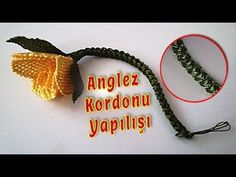 Anglez Kordonu Yapılışı- Anglez Zinciri - Crochet Cord Irish Crochet Cords - YouTube