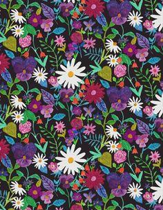 flower garden (Abby Galloway at print & pattern)