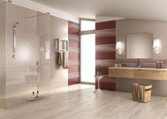 Pavimenti in gres per interni ed esterni e Rivestimento bagni Lace: Contemporary lifestyle