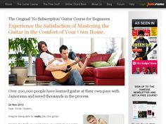 Jamorama Learn Guitar Product – New Site! Big Earnings!