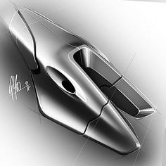 Collection of Forms 2011 by George Yoo at Coroflot.com Industrial design digital sketches form study renders, idea sketches, digital renderings from a designer sketchbook, polygonal, cylindrical, fluid and speed form studies, black and white, cool gray, neutral gray hand rendering using wacom tablet.