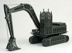 Sculpture by Wim Delvoye - 1 by Avi_Abrams, via Flickr - DRB