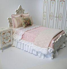 Dollhouse Miniature Bedroom Set | by Ken Haseltine Regent Miniatures