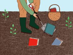 Digging books up from the garden - Summer Reading suggestions from Nancy Pearl