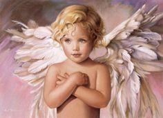 Sweet blonde angel.