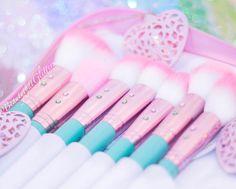 Teal Glam Brush Book♥♥