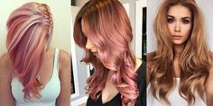 Awesome Hairstyles in Copper-Gold Shades!
