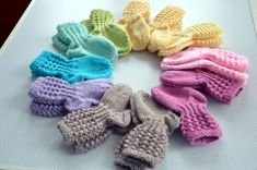Drops Karisma, Baby Accessories, Mittens, Socks, Knitting, Threading, Fingerless Mitts, Tricot, Cast On Knitting