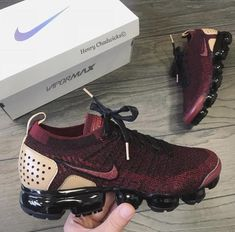 Shop Air VaporMax Flyknit 2 NRG 'Jacket Pack' - Nike on GOAT. We guarantee authenticity on every sneaker purchase or your money back. Women's Shoes, Nike Air Shoes, Hype Shoes, Me Too Shoes, Shoe Boots, Shoes Style, Cute Sneakers, Shoes Sneakers, Gold Sneakers