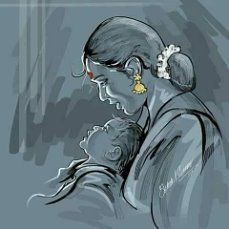 Dance Paintings, Indian Art Paintings, Indian Artwork, Painting Corner, Illustration Art Drawing, Indian Illustration, Indian Art Gallery, Watercolor Paintings For Beginners, Mother Art