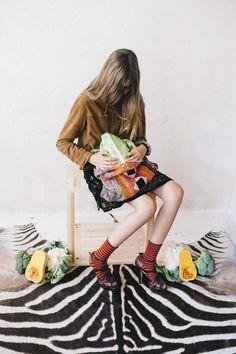 Calcetines Hop Socks. Splendid stripes orange. www.hopsocks.com Lucia M. Photo