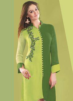Latest_Pakistani_Kurti_Designs_2015_For_Women_FashionHuntWorld+(2).jpg (698×960)