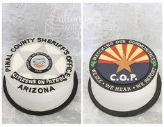 Pinal County Sheriff's Volunteers Cake
