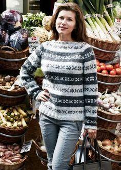 Færøske tanker - Str: S - XL fra Gepard garn Knitting Designs, Knitting Patterns, Knit Cardigan Pattern, Baby Alpaca, Knitting Socks, Handicraft, Danish, Christmas Sweaters, Knit Crochet