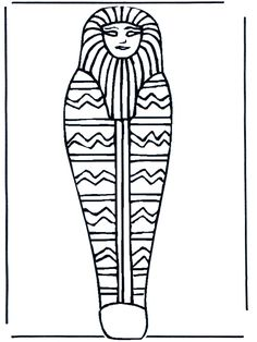 coloriage sarcophage                                                                                                                                                                                 Plus