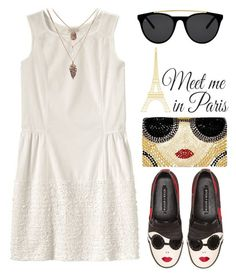 """""""#65"""" by miriam-k ❤ liked on Polyvore featuring Alice + Olivia, Smoke & Mirrors and WallPops"""
