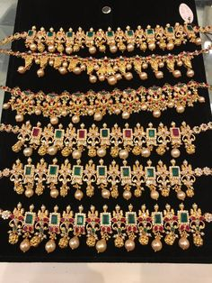 Gold Jewelry Shop Near Me Refferal: 4553471874 Jewelry Design Earrings, Gold Earrings Designs, Gold Jewellery Design, Necklace Designs, Jewelry Shop, Gold Jewelry Simple, Indian Wedding Jewelry, Metal, Peacock Necklace