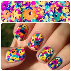 nail art, una sola uña