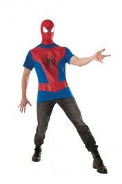 SPIDER MAN T-SHIRT MEDIUM ADULT COSTUME