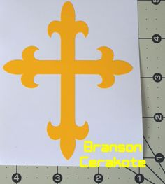Crusader Cross Vinyl Stencil. We have this stencil and much more for sale in our online store.