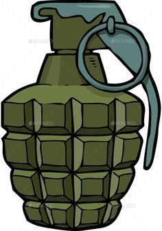 Buy Cartoon Doodle Grenade by ded_Mazay on GraphicRiver. Cartoon doodle grenade on a white background vector illustration Army Birthday Cakes, Army Birthday Parties, Army's Birthday, Cartoon Download, Comic Font, Chanel Art, Edible Printing, Cake Decorating Videos, Ideas Para Fiestas