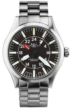 BALL Engineer Master II Aviator GMT Watch