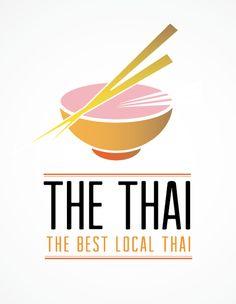 Conceptual logo for a Thai restaurant #design #logo #designcrowd