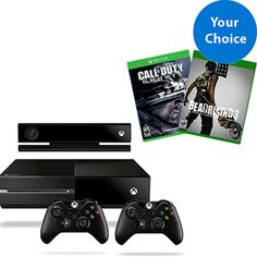 Xbox One Day One Solution Bundle w/ Controller and Game