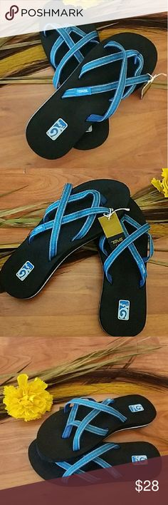 31e77205c1b7 Teva Olowahu Mush Sandals State-of-the-art Mush footbed technology gives  these