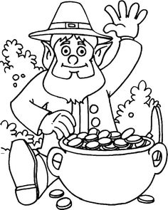 st patrick s day coloring sheet