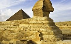 WALLPAPERS HD: The Sphinx Near Cairo Egypt