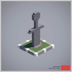 2017 Statue Collection (Redux) - Explore the best and the special ideas about Minecraft Skins Minecraft Crafts, Minecraft Designs, Minecraft Farmen, Construction Minecraft, Minecraft Building Guide, Minecraft Statues, Minecraft Banners, Minecraft Medieval, Minecraft Decorations