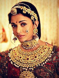 Typical Indian ethnic wedding attire.