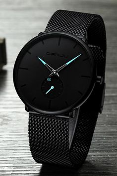 Crrju Fashion Mens Watches Top Brand Luxury Quartz Watch Men Casual Slim Mesh Steel Waterproof Sport Watch Relogio Masculino – Style Z Hitch Stylish Watches, Casual Watches, Luxury Watches For Men, Cool Watches, Wrist Watches, Black Watches, Mens Sport Watches, Cheap Watches, Guy Watches