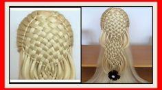 WATER FALL BASKET BRAID HAIRSTYLE / HairGlamour Styles / Hairstyles / Hair Tutorial - YouTube
