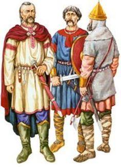Slavic warriors Kievan Rus