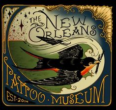 The New Orleans Tattoo Museum has a private tattoo studio, contemporary tattoo art gallery, and a tattoo museum and archive.