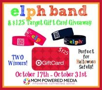 $125 Target Gift Card & ELPH Band Giveaway! (US, Ends Oct 31)
