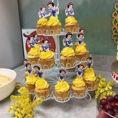 This item is unavailable Princess Cake Toppers, Cupcake Toppers, Cupcake Ideas, Snow White Cupcakes, Snow White Birthday, Etsy App, Diy And Crafts, Birthday Parties, Cup Cakes