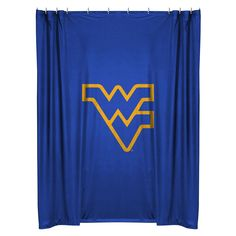 West Virginia Mountaineers Shower Curtain from Team Sports. Click now to shop College Bed & Bath Shower Curtains. Sports Bedding, College Bedding, Fabric Shower Curtains, West Virginia, Ncaa College, Ebay, Products, Gadget