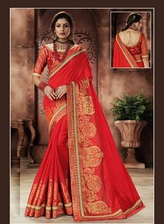 Red newbrides saree  https://www.gravity-fashion.com/latest-indian-designer-wear-saree-in-red-for-new-brides-b18081.html