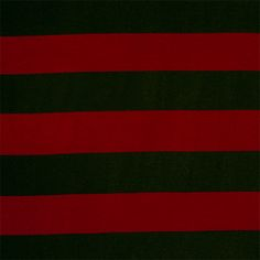 """Red Black Wide Stripe Cotton Spandex Blend Knit Fabric - Love this classic color combination!  Black and red wide stripe cotton rayon spandex blend knit.  Fabric has a nice 4 way stretch, good drape, and a nice light to mid weight hand.  Stripes measure 2"""" (see image for scale).  A versatile fabric great for many uses!  ::  $6.25"""