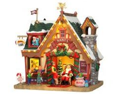 Lemax Santa'S Cabin, With 4