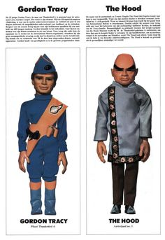 Thunderbirds´ characters more characters: http://you-talkin-to-me.tumblr.com/post/59608269022/a-series-of-gum-cards-for-thunderbirds-providing