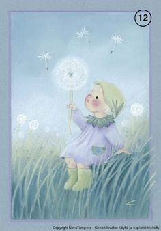 Kaarina Toivanen - Юлия К - Picasa Web Albums Children's Book Illustration, Illustrations, Elves And Fairies, Doll Eyes, Christmas Scenes, Naive Art, Whimsical Art, Art Girl, Watercolor Art