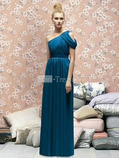 Column chiffon dress