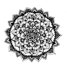 Mandala 3 by koko0117 on DeviantArt