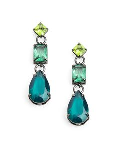 Hoping someone invites me to a fancy holiday party so I have an excuse to buy these :: Hombre Earrings from JewelMint