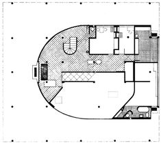Villa Savoye par Le Corbusier