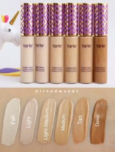 Best makeup products foundation shades ideas Beste Make-up-Produkte Foundation Sha Makeup Tarte, Makeup Dupes, Makeup Geek, Makeup Cosmetics, Beauty Make-up, Beauty Makeup Tips, Makeup Blog, Beauty Products, Shape Tape Concealer Swatches